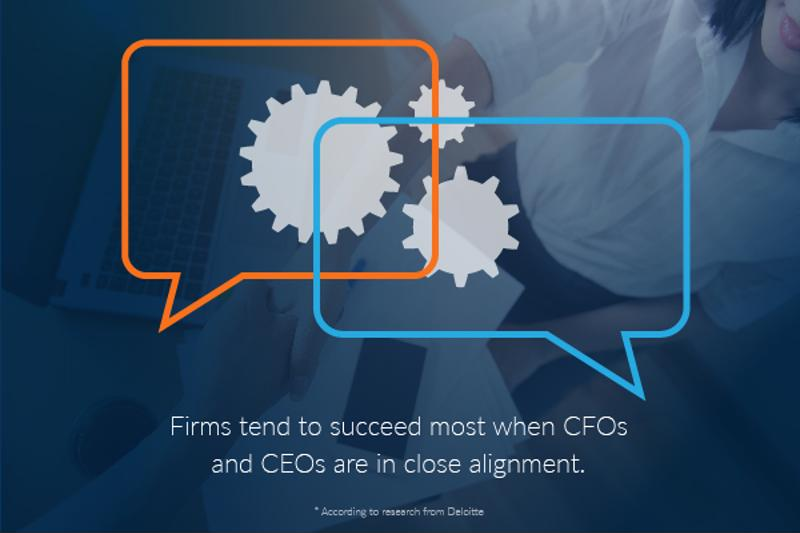 A strong relationship between CFO and CEO drives further focus on broader strategic initiatives.